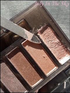 blog beauté naked smoky urban decay revue test avis comment reparer un fard brisé