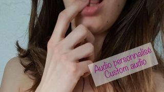 <br></noscript>Audio personnalisé</br><i>Custom Audio</i>