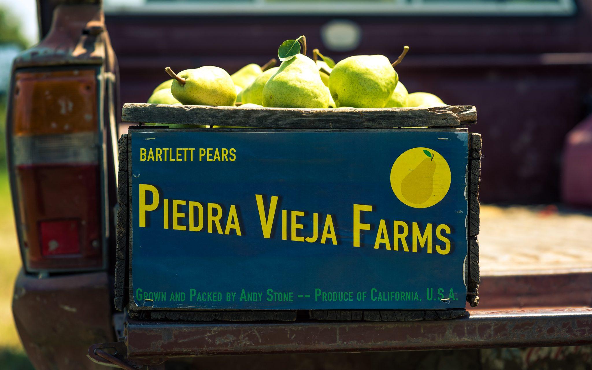 Piedra Vieja Farms Label