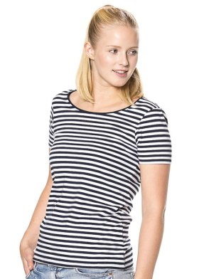 Pide-iført-Lady-Striped_Tee--ST214-02c