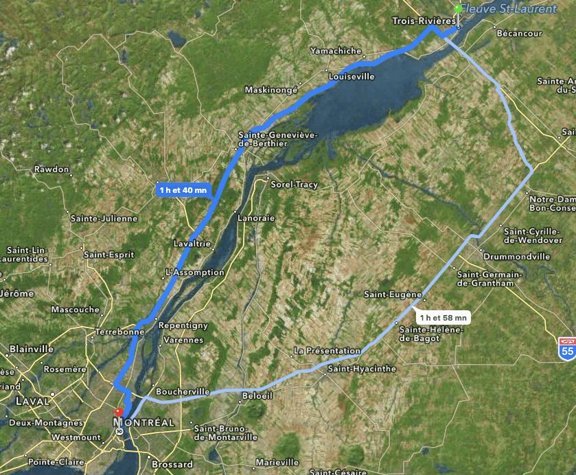 Trois-Rivières - Montreal