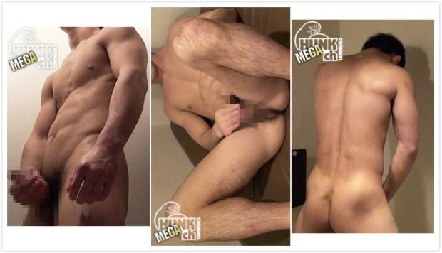 HUNK CHANNEL – NON055 – 見せるのがクセになってしまった!?童貞体操部員がシャワー室で淫乱オナニー!!
