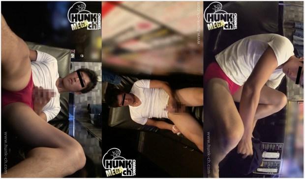 HUNK CHANNEL – BOY378 – 爽やかイケメンをビデボに連れ込む!