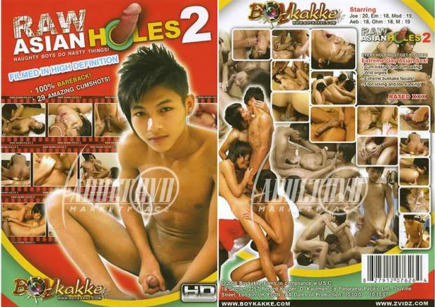 BoyKakke – Raw Asian Holes 2