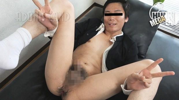 HUNK CHANNEL – ADL-0224 – 童貞学ラン君!デカ尻ムチケツに電動エネマをズボッ!