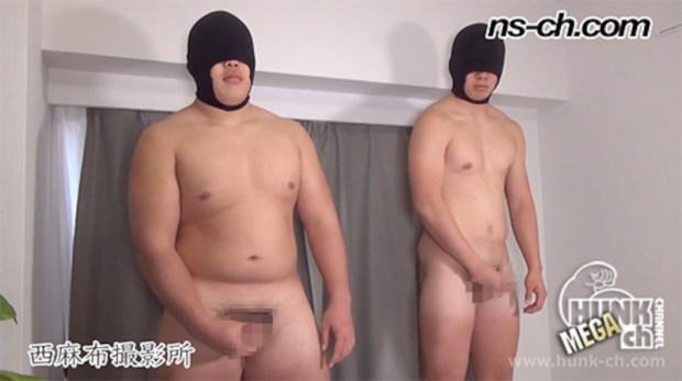 HUNK CHANNEL – NS-742 – 体育会選抜選手(168cm96kg18歳大学生・175cm82kg19歳)