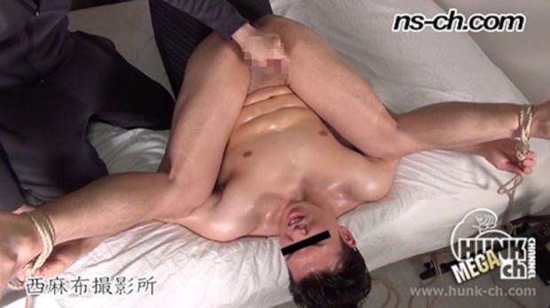 HUNK CHANNEL – NS-789 – S級筋肉男子開脚緊縛チンコ責め地獄