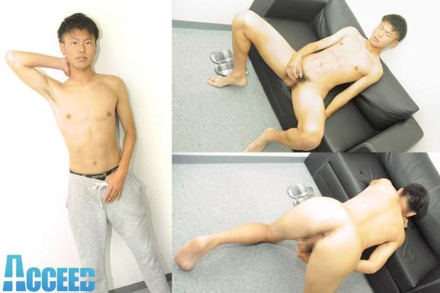 Acceed – OCON069 – スウェット姿がエロいっ!!サッカー青年「修太」オナニー!!