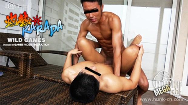 HUNK CHANNEL – SYK1003 – 灼熱のKARADA、真翔(まなと)と遼真(りょうま)!!プールサイドの静寂を破る超硬筋肉同士の灼熱ファックで高温注意!!!