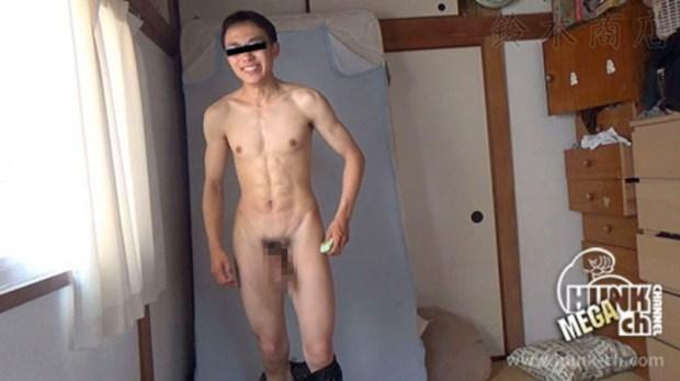 HUNK CHANNEL – SZK-0050 – 国産投稿自撮り超リアルオナニー!!8パックの腹筋を持つデカマラめがねノンケ男子が女性下着を嗅ぎながら淫乱オナニー!!