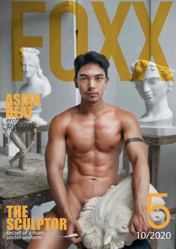 Foxx Magazine Vol.5 – The Sculptor [Ebook+Video]