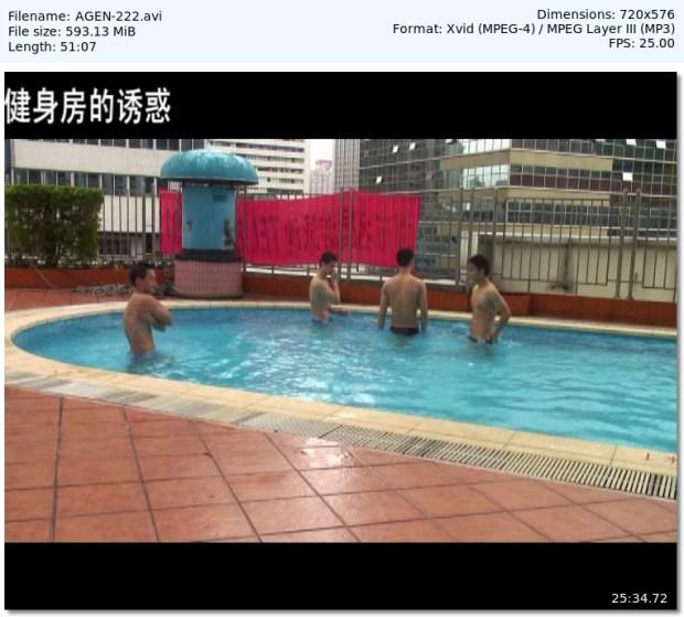 GAY CHINA - Temptation at the Gym (健身房的誘惑)
