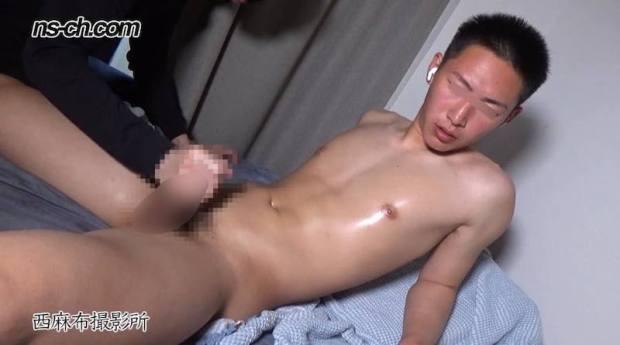 西麻布撮影所 – NS-1066 – U-23日本代表男子部員175cm73kg21歳