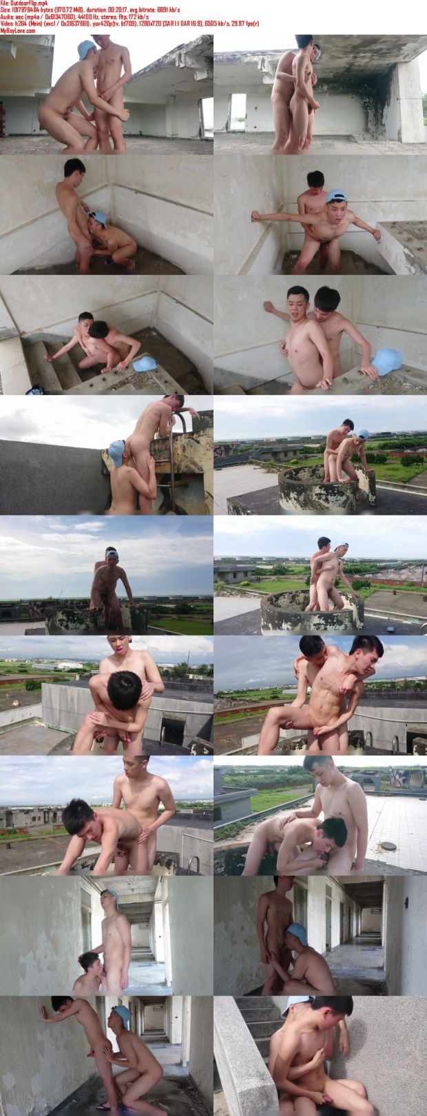 Chinese maleshow – Amateur Contribution – Outdoor Flip 野外互操