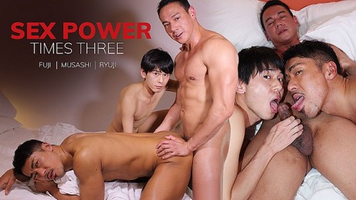 JapanBoyz – Ryuji, Musashi and Fuji – Sex Power Times Three