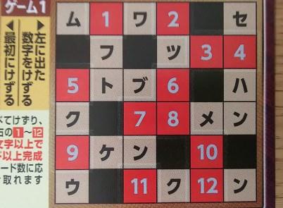 クロスワードスクラッチ トライ6 当選確率