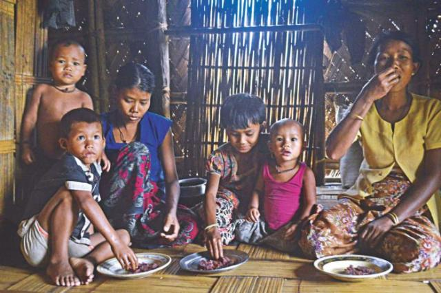 food crisis in thanchi