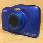 防水防塵カメラ ニコン COOLPIX S33!簡単操作でキッズカメラとしても!