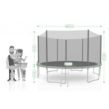 mousse de protection des ressorts pour trampoline en pvc choix couleurs et tailles
