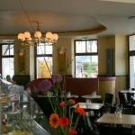 Sitzgelegenheiten im Café Anna Blume