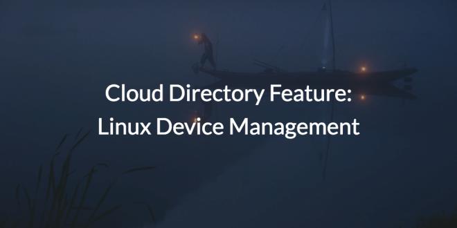 Linux Device Management