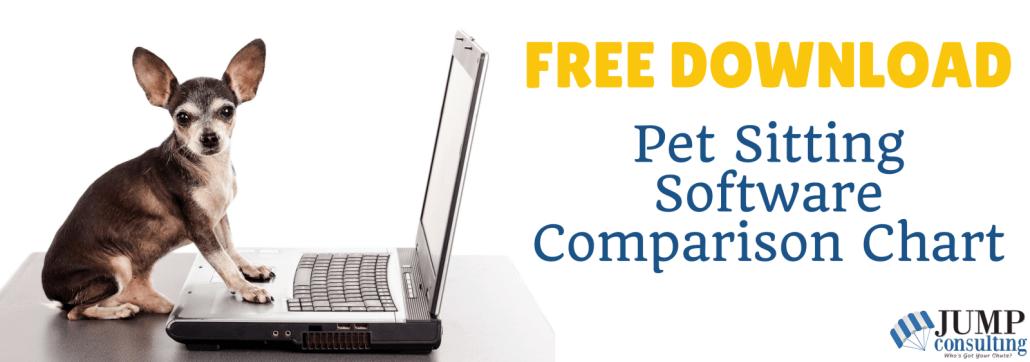 pet sitting software company comparison