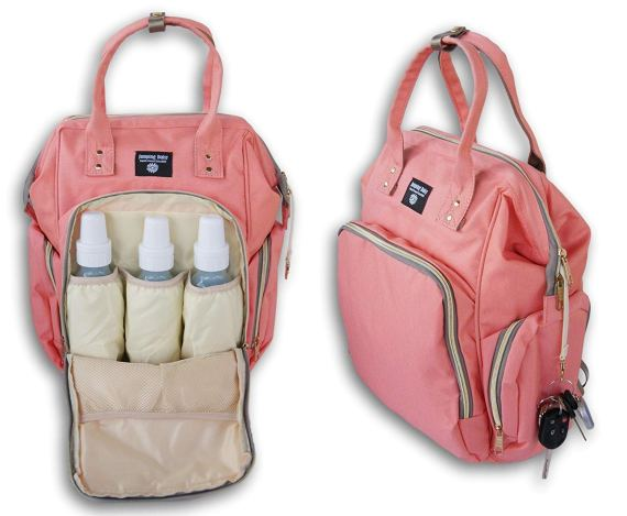 Jumping Daisy Large Baby Backpack Diaper Bag for Women or ...