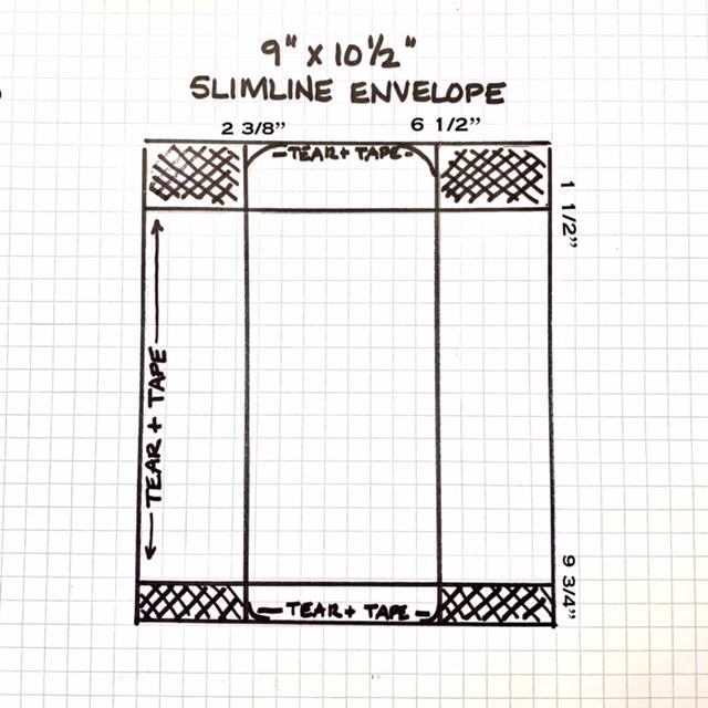 Slimline Envelope