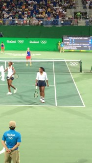 Saw the Williams sisters play (and lose). Major bucket list item crossed off