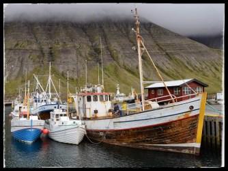 Wooden fishing boats, Isafjördur