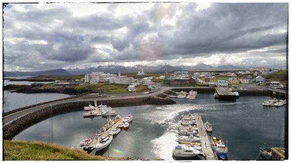 Stykisshölmur harbour