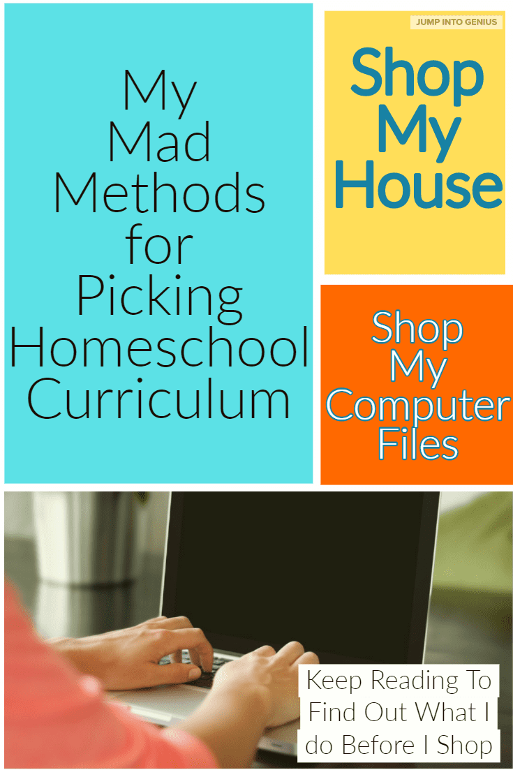 My Mad Methods for Picking Homeschool Curriculum