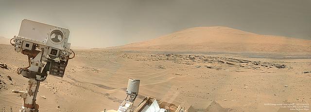 NASA/JPL-Caltech/MSSS. Edit by Jason Major