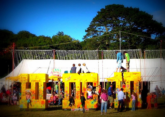 Camp Bestival by Ruth Harper/Flickr