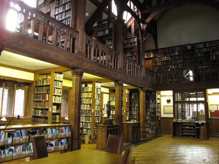 St Deniel's Library