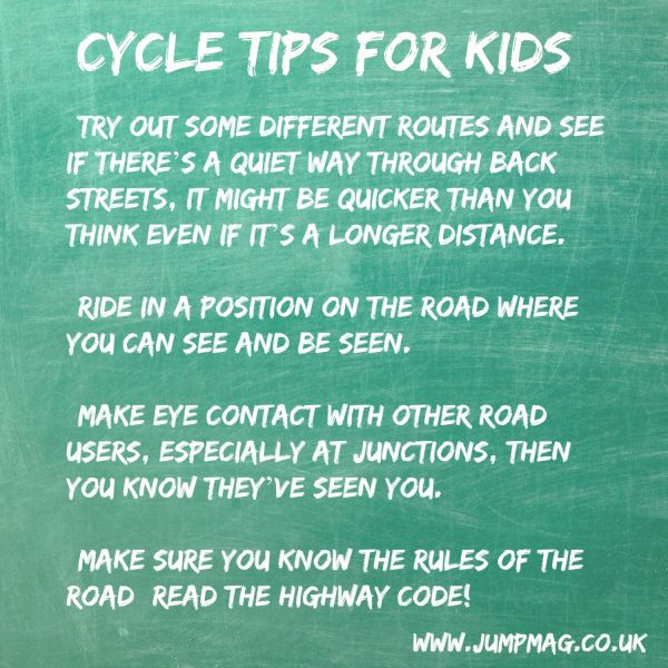 cycle tips for kids