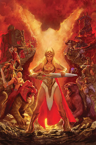She-ra by Stjepan Sejic via DC Comics