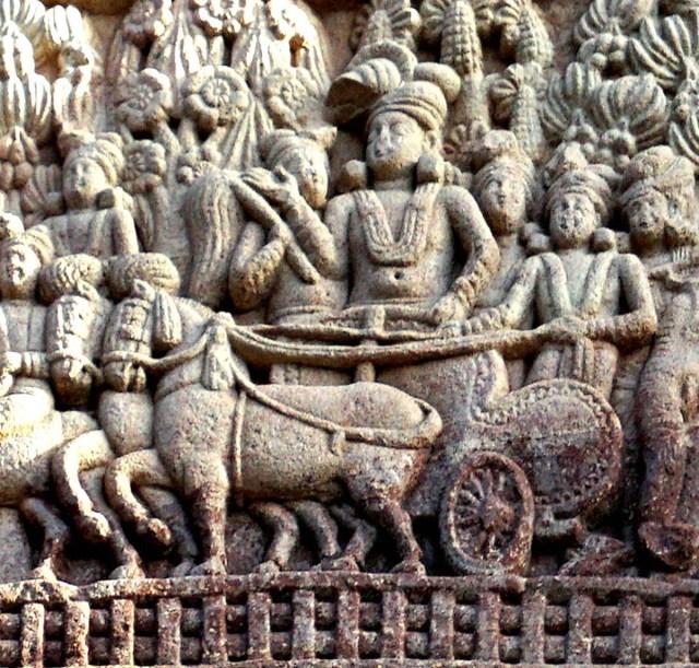 Ashoka's_visit_to_the_Ramagrama_stupa_Sanchi_Stupa_1_Southern_gateway