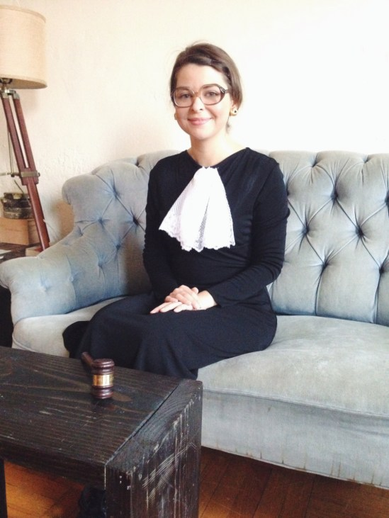 Notorious RBG Costume