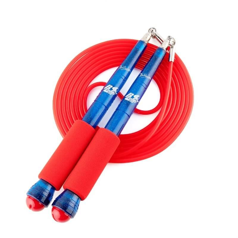 Rope Master hoppetau, rød/blå