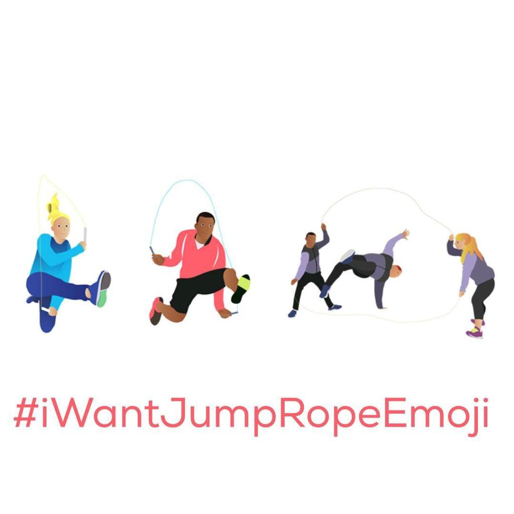 Share like and use iWantJumpRopeEmoji to make JumpRopeEmoji a reality!hellip