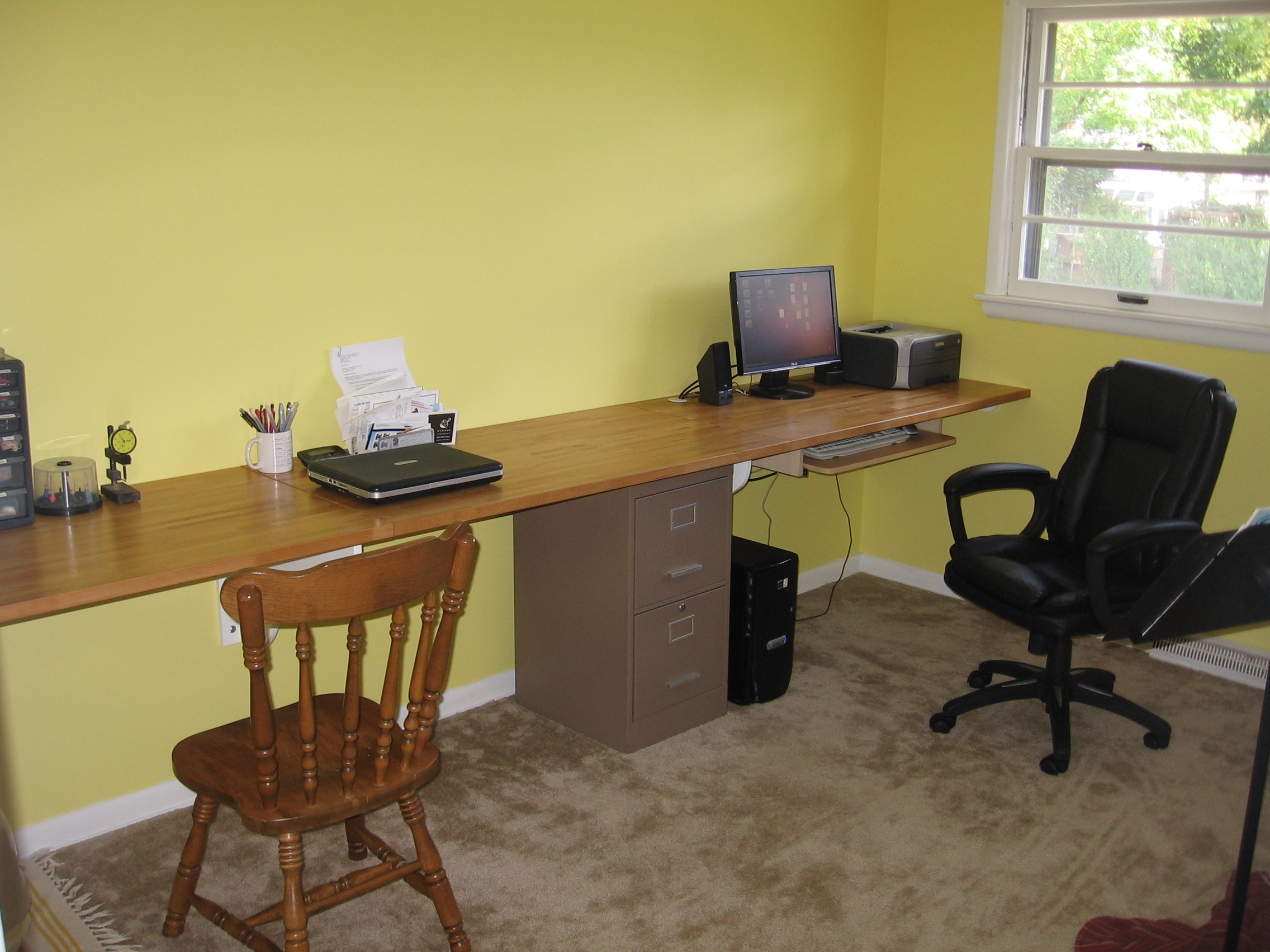 Built-in Desk Is Better Than Anything We Could Buy