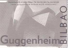 Guggeneheim entrance ticket