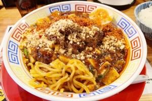 スパイス食堂サワキチ梅田兎我野町店のラーメン2