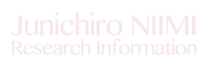 Junichiro NIIMI Research Information