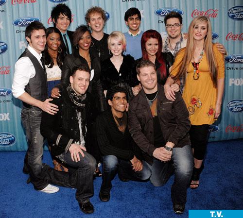 American Idol Season 8 Top 13
