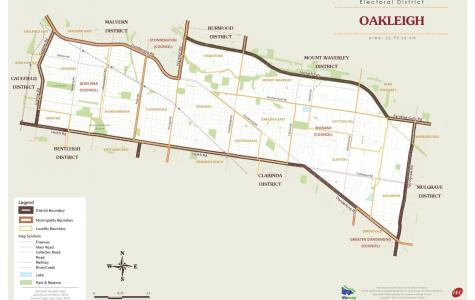 Oakleigh – It's all about the trains