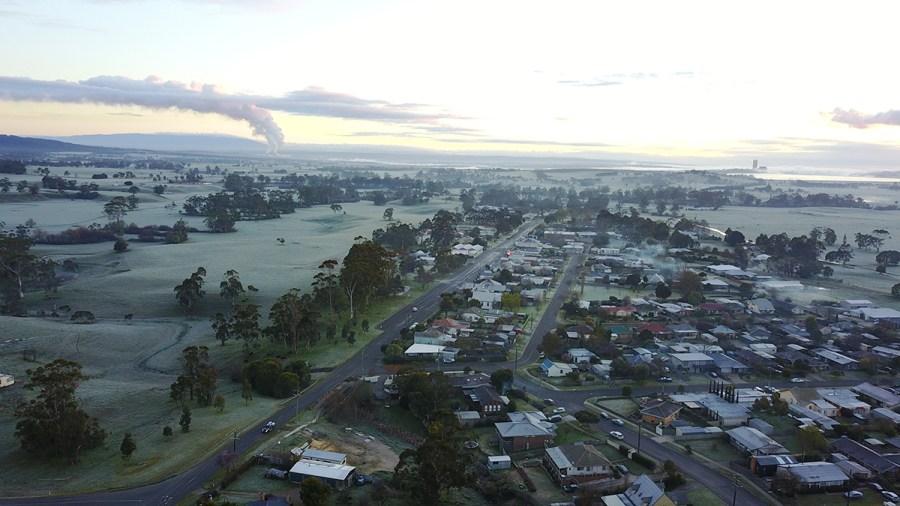 Yinnar, in Victoria's Latrobe Valley.