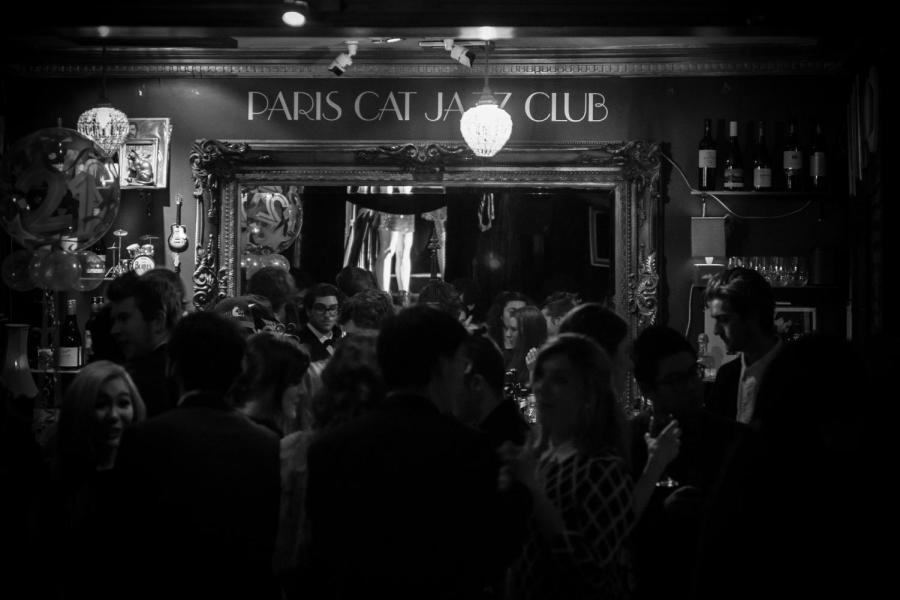 The Paris Cat: turning hot jazz into cool cash