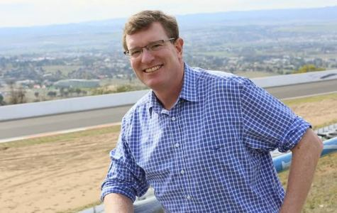 Frontrunner... Andrew Gee, Nationals representative for the Central West NSW seat of Calare.